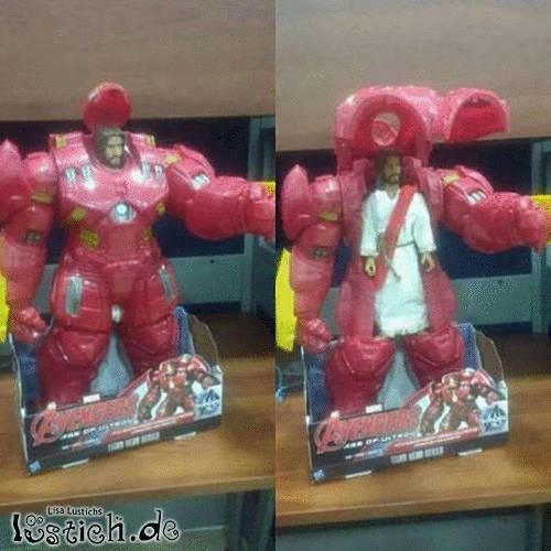 Neuer Superheld