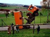 Hochsprung Lastwagen