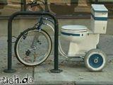 Klo-Fahrrad