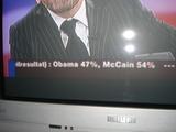 Wahlergebnis Obama - McCain