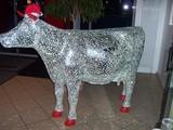 Kuh aus Glas