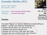 Typisch Counter Strike