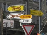 Schilder in Berlin