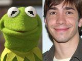 Kermit und Justin Long