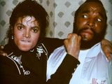 Michael Jackson haut Mr. T