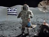 Griechen auf dem Mond
