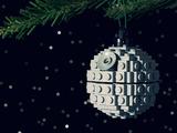 Todesstern am Weihnachtsbaum