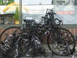 Fahrrad abstellen