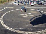 Riesiger Parkplatz