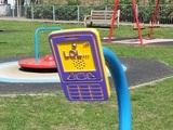 Moderner Spielplatz
