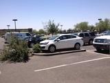 Der grüne Parkplatz