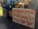 Halloweenangebot