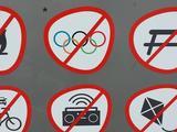 Olympia verboten
