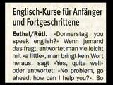 Englisch-Kurs