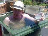 Mülleimer-Pool