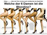 Wer ist ein Blondine