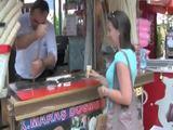 Lusticher Eiskauf