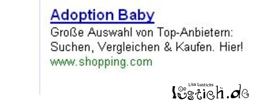 Adoption von Babys