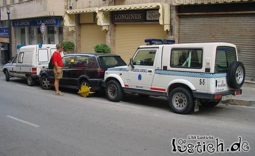 Böse Polizei