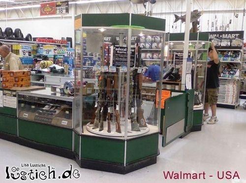 Waffen bei Walmart