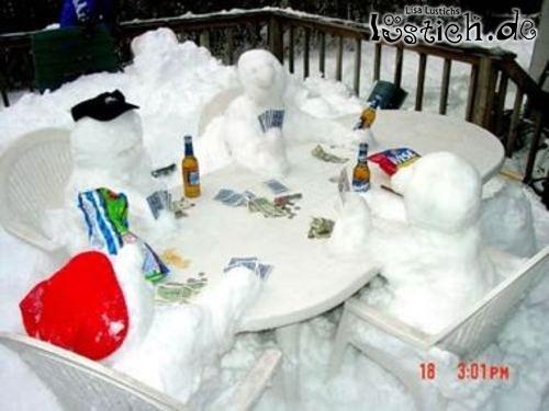 Schneemannpoker