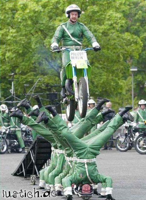 Polizei Stunt