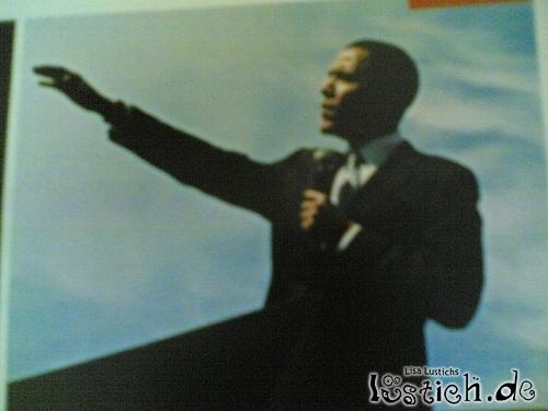Obama macht Hitlergruß