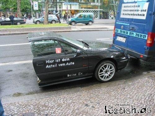 Auto nach der Scheidung