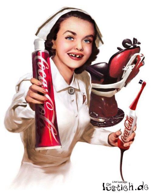 Cola Zahnpasta