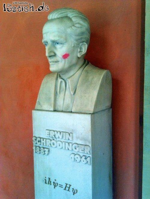 Schrödingers Kuss