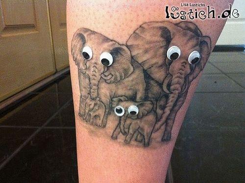 Elefantentattoo