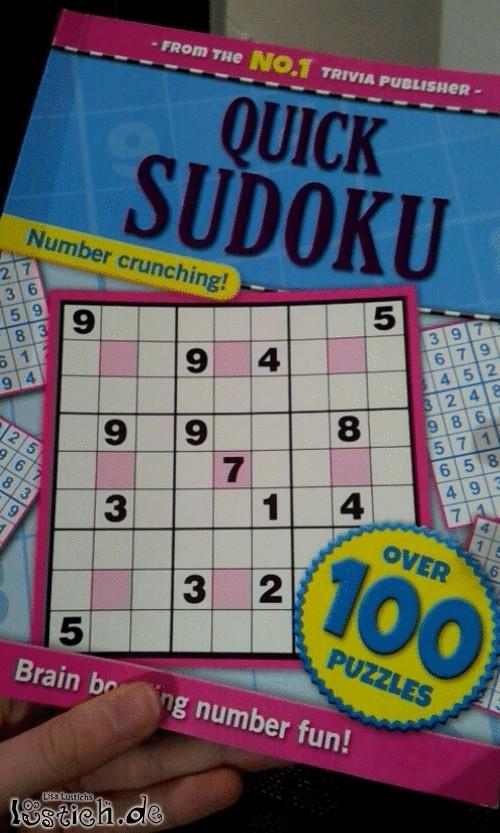 Qualitativ hochwertiges Sudoku