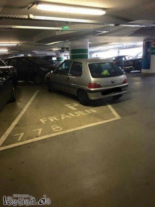 Einparkprobleme
