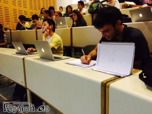 Apple-Studenten