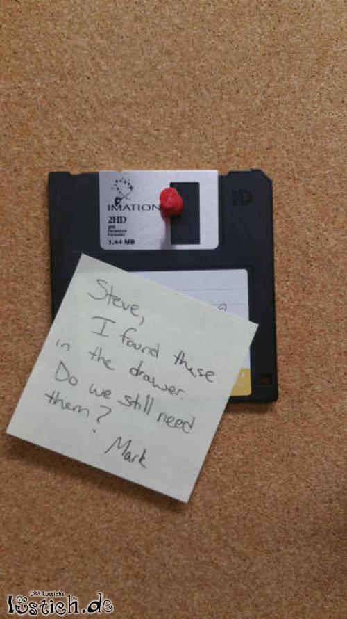 Alte Diskette