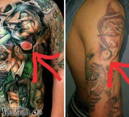 Tattoo klauen