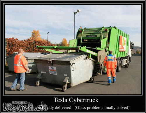 First Tesla Cybertruck delivered