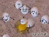 Kotzende Eier