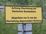 Warnung für die Männer