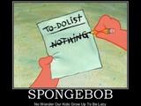 Aufgabenliste bei Spongebob