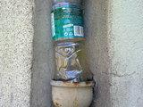 Plastikflaschenrohr