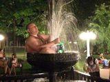 Entspannender Springbrunnen