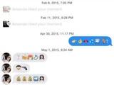 Anmache mit Emojis