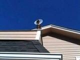 Nachbars neue Antenne