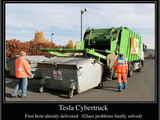 First Tesla Cybertruck delivered