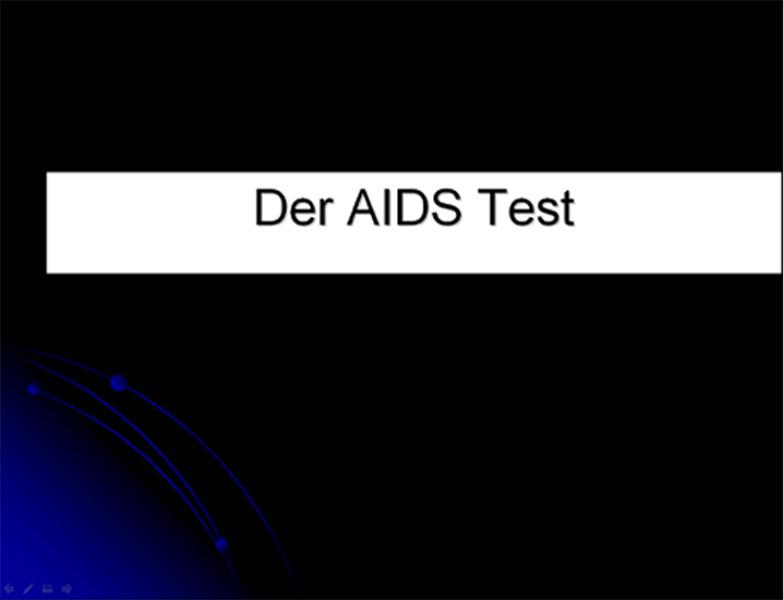 Der Aidstest
